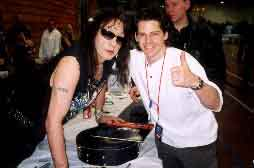 With Ace Frehley, 4/27/02