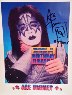 Ace signed 8x10