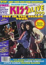 Alive 1990 HITS tour mag