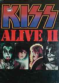 Alive 2 songbook
