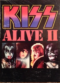 Alive 2 songbook front