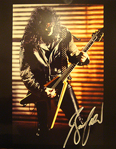 Bruce Kulick autographed photo