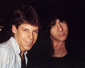 Jon and Eric Carr in 1989
