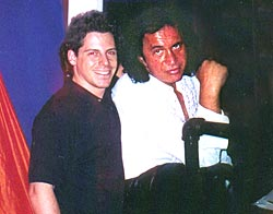 With Gene Simmons, 6/5/02
