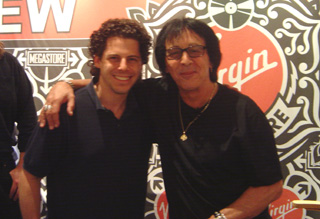 Peter Criss and Jon Rubin 7/24/07