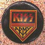 Kiss Army button
