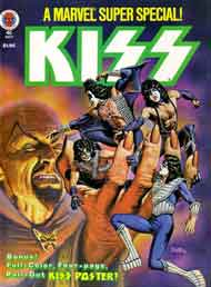 Marvel #2 KISS comic