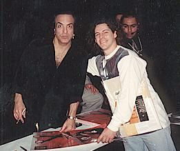 With Paul Stanley, 1/9/00